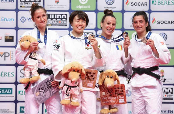 Chitu Andreea bronz IJF Grand Prix Budapesta 2019