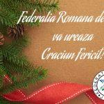 Mesajul preşedintelui FRJudo, domnul Cozmin Guşă, transmis cu prilejul Crăciunului
